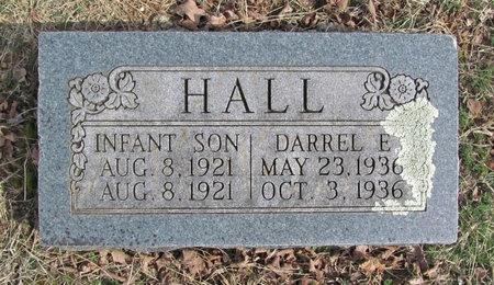 HALL, INFANT SON - McDonald County, Missouri | INFANT SON HALL - Missouri Gravestone Photos