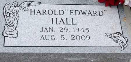HALL, HAROLD EDWARD - McDonald County, Missouri | HAROLD EDWARD HALL - Missouri Gravestone Photos