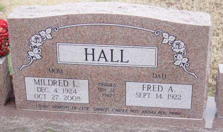 HALL, MILDRED LORRAINE - McDonald County, Missouri | MILDRED LORRAINE HALL - Missouri Gravestone Photos