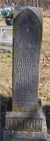 HARMON, ARVILLA - McDonald County, Missouri | ARVILLA HARMON - Missouri Gravestone Photos