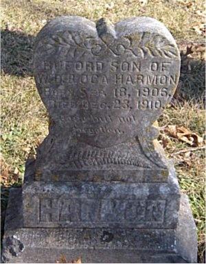 HARMON, BUFORD - McDonald County, Missouri | BUFORD HARMON - Missouri Gravestone Photos
