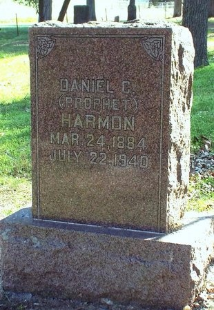 "HARMON, DANIEL CURTIS ""PROPHET"" - McDonald County, Missouri   DANIEL CURTIS ""PROPHET"" HARMON - Missouri Gravestone Photos"