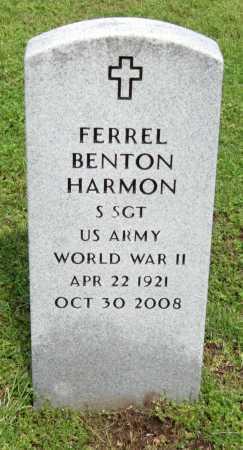 "HARMON, FERREL BENTON ""PETE"" (VETERAN WWII) - McDonald County, Missouri | FERREL BENTON ""PETE"" (VETERAN WWII) HARMON - Missouri Gravestone Photos"