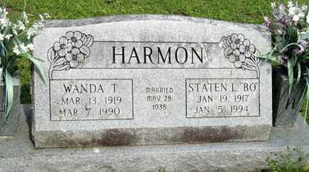 STEPHENS HARMON, WANDA T - McDonald County, Missouri | WANDA T STEPHENS HARMON - Missouri Gravestone Photos