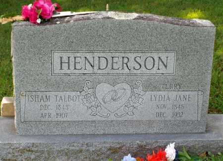 HENDERSON, LYDIA JANE - McDonald County, Missouri | LYDIA JANE HENDERSON - Missouri Gravestone Photos