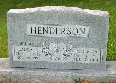HENDERSON, ROBERT A - McDonald County, Missouri | ROBERT A HENDERSON - Missouri Gravestone Photos