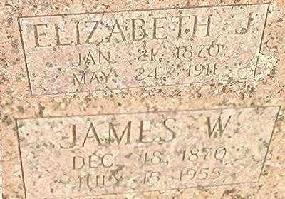 HENSON, ELIZABETH J. - McDonald County, Missouri | ELIZABETH J. HENSON - Missouri Gravestone Photos