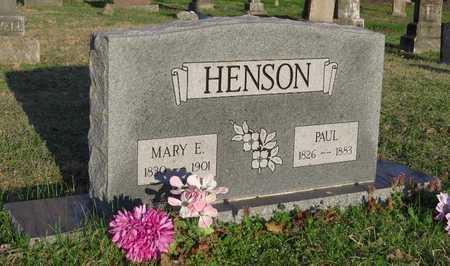 WOLF HENSON, MARY ELIZABETH - McDonald County, Missouri | MARY ELIZABETH WOLF HENSON - Missouri Gravestone Photos