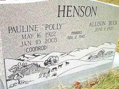 "HENSON, PAULINE ""POLLY"" - McDonald County, Missouri | PAULINE ""POLLY"" HENSON - Missouri Gravestone Photos"