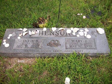 HENSON, MARY - McDonald County, Missouri | MARY HENSON - Missouri Gravestone Photos