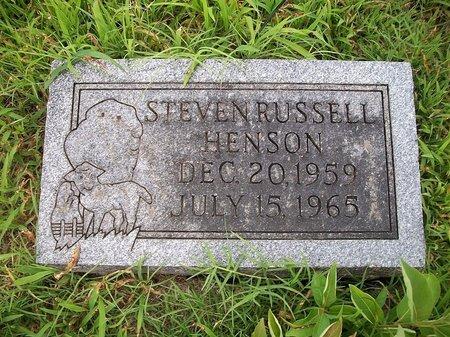 HENSON, STEVEN - McDonald County, Missouri | STEVEN HENSON - Missouri Gravestone Photos
