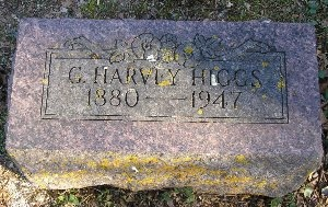 HIGGS, G. HARVEY - McDonald County, Missouri | G. HARVEY HIGGS - Missouri Gravestone Photos