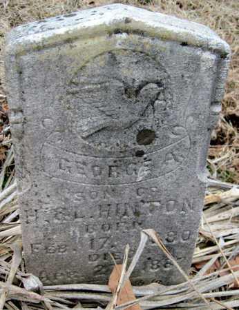 HINTON, GEORGE A - McDonald County, Missouri | GEORGE A HINTON - Missouri Gravestone Photos
