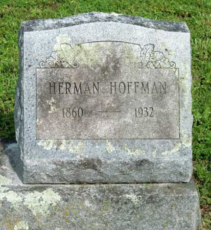 HOFFMAN, HERMAN - McDonald County, Missouri | HERMAN HOFFMAN - Missouri Gravestone Photos