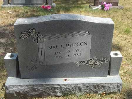 HUDSON, MAE ELIZABETH - McDonald County, Missouri   MAE ELIZABETH HUDSON - Missouri Gravestone Photos