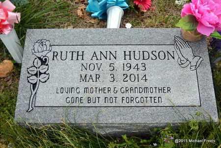 HUDSON, RUTH ANN - McDonald County, Missouri   RUTH ANN HUDSON - Missouri Gravestone Photos