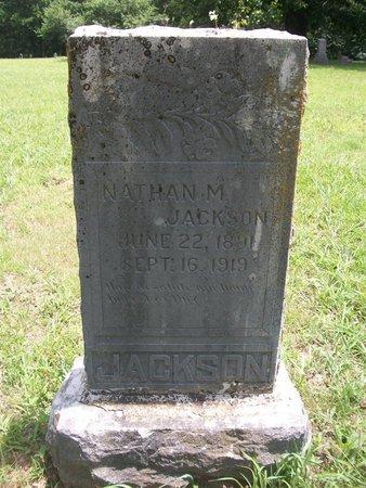 JACKSON, NATHAN - McDonald County, Missouri | NATHAN JACKSON - Missouri Gravestone Photos