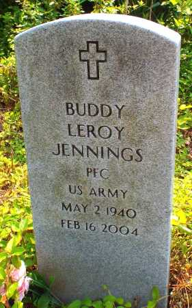 JENNINGS, BUDDY LEROY (VETERAN) - McDonald County, Missouri | BUDDY LEROY (VETERAN) JENNINGS - Missouri Gravestone Photos