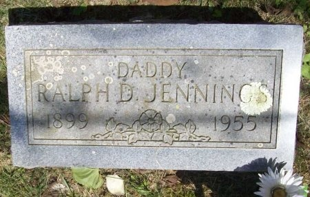 JENNINGS, RALPH D. - McDonald County, Missouri | RALPH D. JENNINGS - Missouri Gravestone Photos