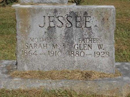 JESSEE, SARAH M. - McDonald County, Missouri | SARAH M. JESSEE - Missouri Gravestone Photos