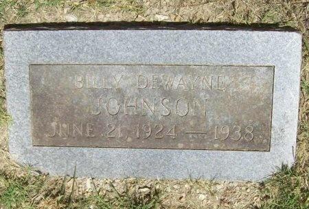 JOHNSON, BILLY DEWAYNE - McDonald County, Missouri   BILLY DEWAYNE JOHNSON - Missouri Gravestone Photos