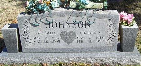 JOHNSON, CHARLES A. - McDonald County, Missouri | CHARLES A. JOHNSON - Missouri Gravestone Photos