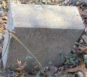JOHNSON, ELLEN R. - McDonald County, Missouri | ELLEN R. JOHNSON - Missouri Gravestone Photos
