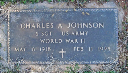 JOHNSON, CHARLES A VETERAN WWII - McDonald County, Missouri | CHARLES A VETERAN WWII JOHNSON - Missouri Gravestone Photos