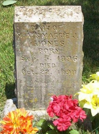 JONES, DAUGHTER - McDonald County, Missouri   DAUGHTER JONES - Missouri Gravestone Photos