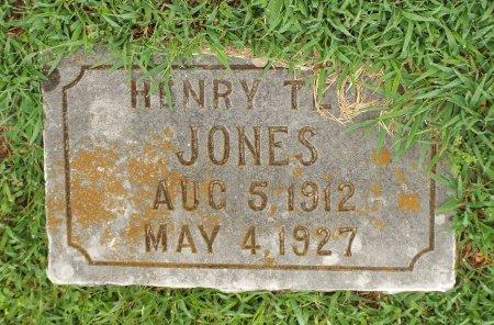 JONES, HENRY T - McDonald County, Missouri   HENRY T JONES - Missouri Gravestone Photos
