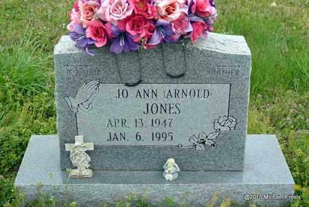 JONES, JO ANN - McDonald County, Missouri   JO ANN JONES - Missouri Gravestone Photos