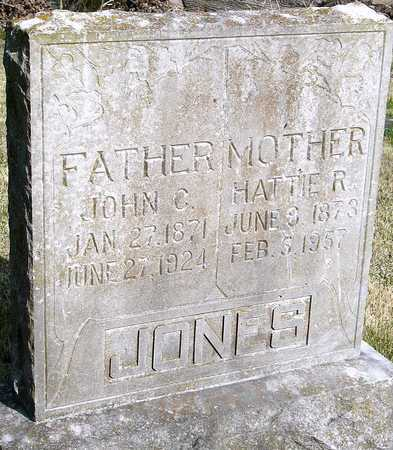 JONES, HATTIE R - McDonald County, Missouri | HATTIE R JONES - Missouri Gravestone Photos