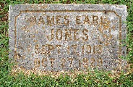 JONES, JAMES EARL - McDonald County, Missouri | JAMES EARL JONES - Missouri Gravestone Photos