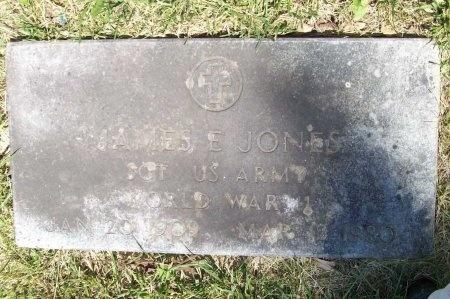 JONES, JAMES E. (VETERAN WWII) - McDonald County, Missouri   JAMES E. (VETERAN WWII) JONES - Missouri Gravestone Photos