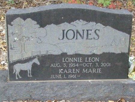 JONES, LONNIE LEON - McDonald County, Missouri   LONNIE LEON JONES - Missouri Gravestone Photos