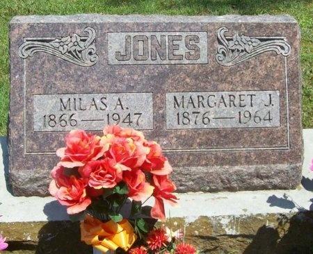 JONES, MILAS ALEXANDER - McDonald County, Missouri | MILAS ALEXANDER JONES - Missouri Gravestone Photos