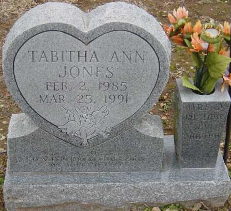 JONES, TABITHA ANN - McDonald County, Missouri   TABITHA ANN JONES - Missouri Gravestone Photos