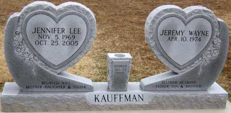 "POINDEXTER KAUFFMAN, JENNIFER ""JENNY"" - McDonald County, Missouri   JENNIFER ""JENNY"" POINDEXTER KAUFFMAN - Missouri Gravestone Photos"