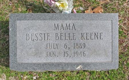KEENE, BESSIE BELL - McDonald County, Missouri   BESSIE BELL KEENE - Missouri Gravestone Photos