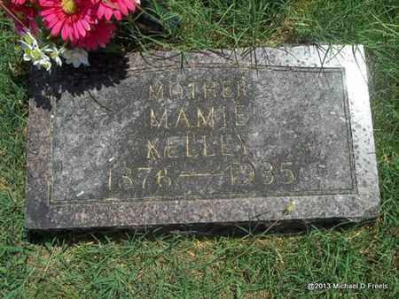 KELLEY, MAMIE - McDonald County, Missouri | MAMIE KELLEY - Missouri Gravestone Photos