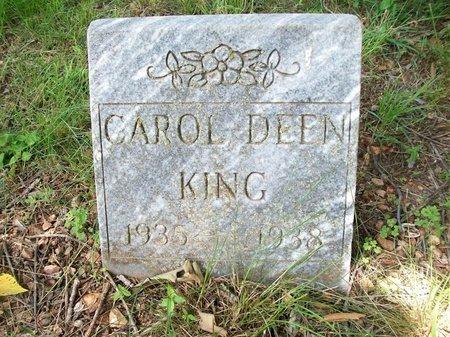 KING, CAROL - McDonald County, Missouri | CAROL KING - Missouri Gravestone Photos