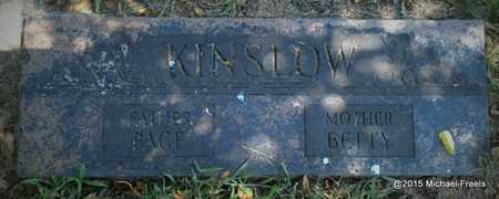 KINSLOW, PAGE CONRAD - McDonald County, Missouri | PAGE CONRAD KINSLOW - Missouri Gravestone Photos