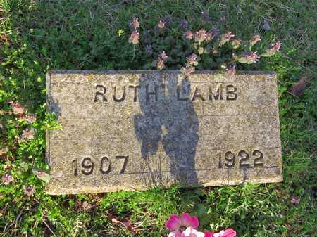 LAMB, RUTH - McDonald County, Missouri | RUTH LAMB - Missouri Gravestone Photos
