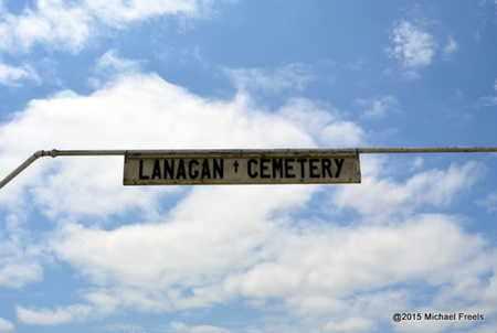 *, LANAGAN CEMETERY SIGN - McDonald County, Missouri | LANAGAN CEMETERY SIGN * - Missouri Gravestone Photos