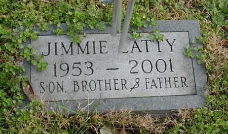 LATTY, JIMMIE - McDonald County, Missouri | JIMMIE LATTY - Missouri Gravestone Photos
