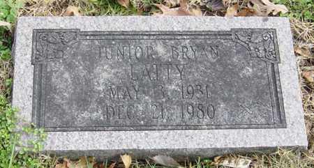 "LATTY, JUNIOR BRYAN ""J.B."" - McDonald County, Missouri | JUNIOR BRYAN ""J.B."" LATTY - Missouri Gravestone Photos"