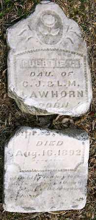 LAWHORN, GUERTIE GOLDEN - McDonald County, Missouri   GUERTIE GOLDEN LAWHORN - Missouri Gravestone Photos