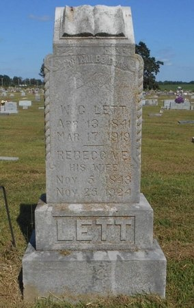 LETT, W. G. - McDonald County, Missouri   W. G. LETT - Missouri Gravestone Photos