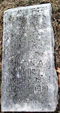 LINK, BURTON ALEXANDER - McDonald County, Missouri | BURTON ALEXANDER LINK - Missouri Gravestone Photos