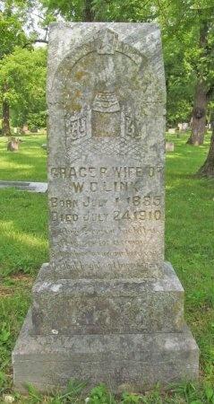 LINK, GRACE P - McDonald County, Missouri | GRACE P LINK - Missouri Gravestone Photos